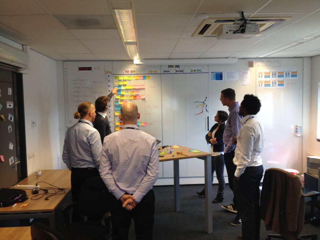 daily standup meetings are a part of every agile team